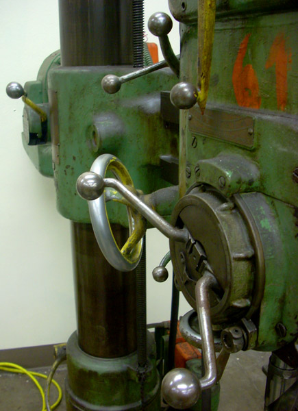 Drill Press, Laney College Machine Shop