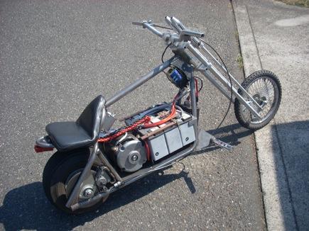Jim Husted's sweet mini-cruiser